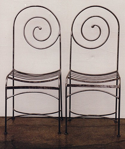 Chaises escargot